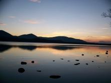 Loch Morlich, CairnGorm, Scotland, UK, sunset