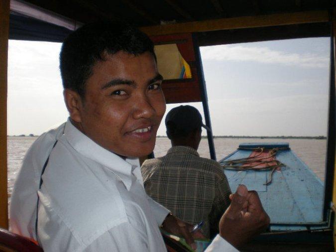 Tuk-tuk driver Cambodia