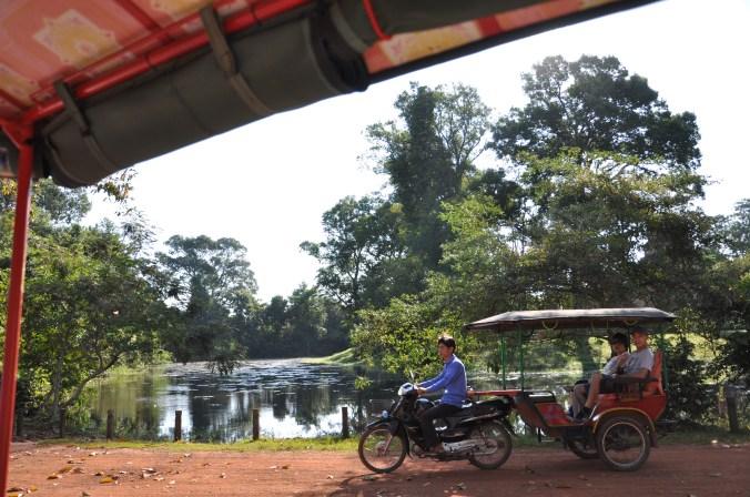 Tuk-tuk Siem Reap Cambodia