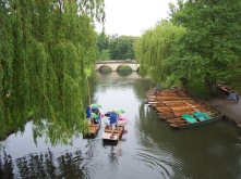 Cambridge, England, UK, punting