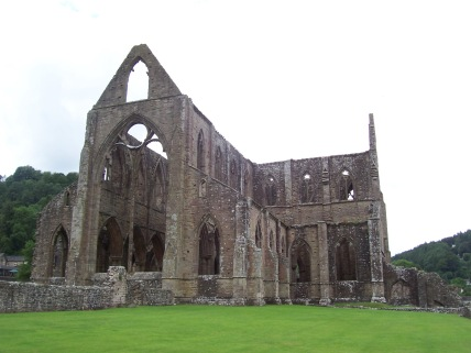 Tintern Abbey, Wales, UK, Britain