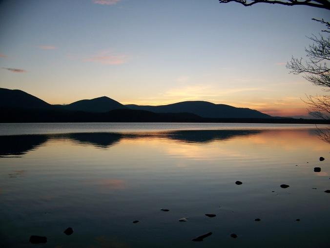 Highlands, Scotland, Sunset