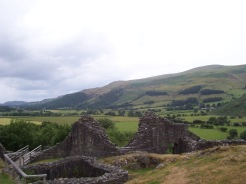 Castell-Y-Bere, Llywelyn, Wales, UK, Britain