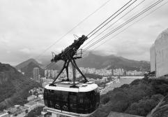 Cable car, Sugar loaf mountain, Rio de Janeiro, Brazil