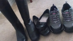 Boots, Hiking boots, ballet flats, shoes