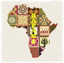 Africa, volunteer, clipart
