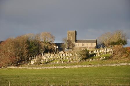 Kilmartin, Scotland, UK, cemetery