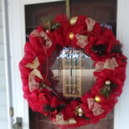 Alabama, Christmas, wreath