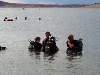 scuba, diving, open water