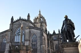 St. Giles Cathedral, Edinburgh, Scotland, UK