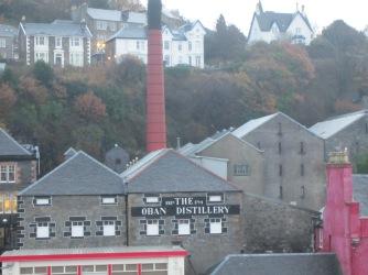 Oban, distillery, scotch whisky, Scotland