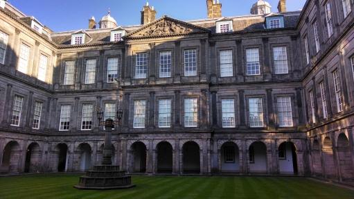Holyrood Palace, Royal Mile, Edinburgh, Scotland