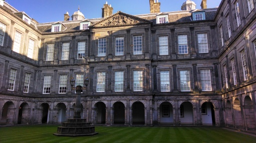 Holyrood Palace, Royal Mile, Edinburgh, Scotland