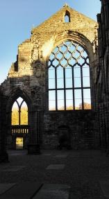 Abbey, Holyrood Palace, Royal Mile, Edinburgh, Scotland