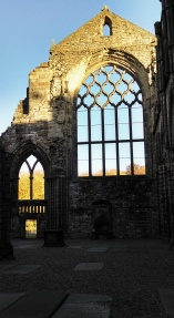 Abbey, Holyrood Palace, Royal Mile, Edinburgh, Scotland