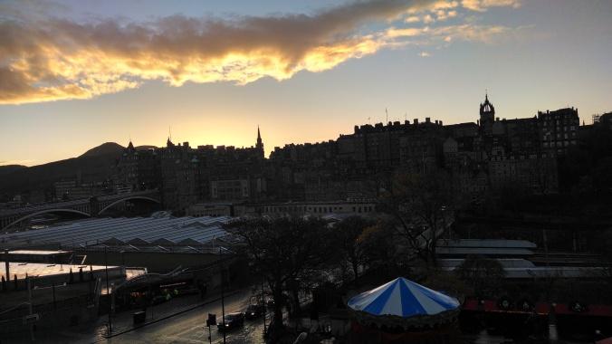Old Waverly, Edinburgh, Scotland