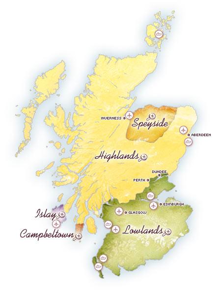 Scotch Regions