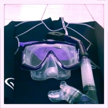 scuba, diving, snorkeling, mask