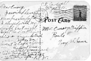 postcard, United States