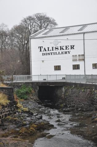 Talisker Distillery, Isle of Skye, Scotland, UK