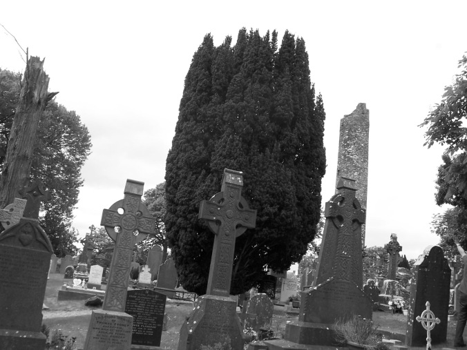Ireland, Cemetery, Celtic Crosses