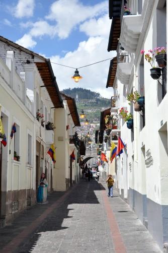 Calle de la Ronda, Quito, Ecuador