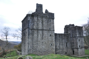 Carnasserie Castle, Kilmartin, Scotland, UK