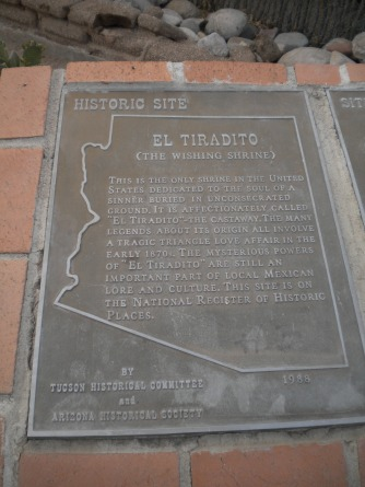 Tucson, El Tiradito, The Wishing Shrine