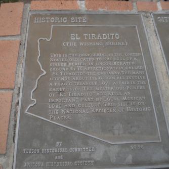 Tucson, El Tiradito, The Wishing Shrine
