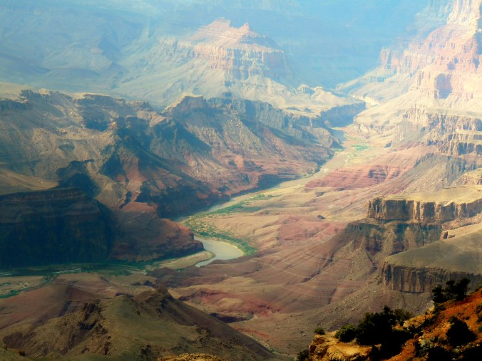 Grand Canyon National Park, View from South Rim, Arizona, United States