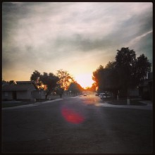 Sunset, phoenix, instragram