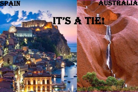 Spain, Australia