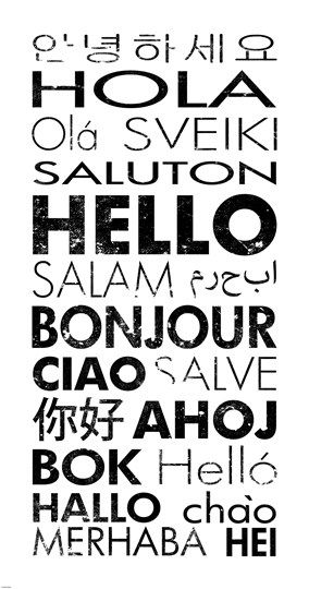 Languages pondertheirrelevant greetings in different languages m4hsunfo