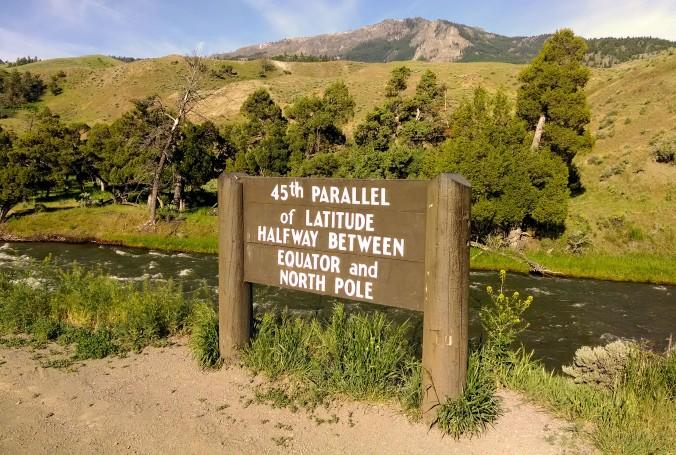 sign, latitude, equator, north pole