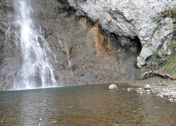 Fairy falls, Yellowstone National Park