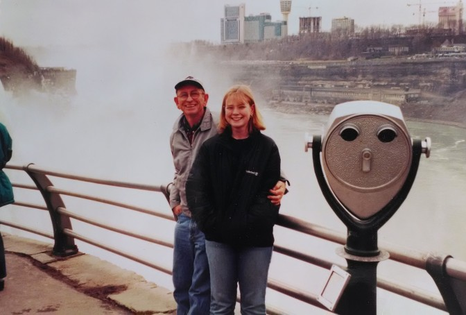 family vacation, Niagara Falls