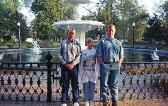 family vacation, Savannah Georgia