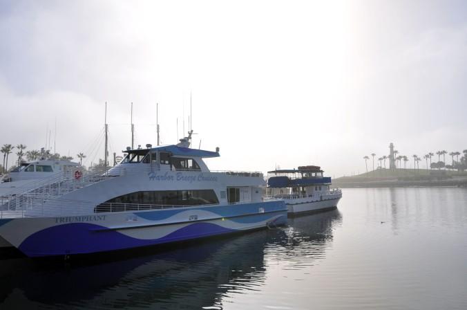 Long Beach California boat