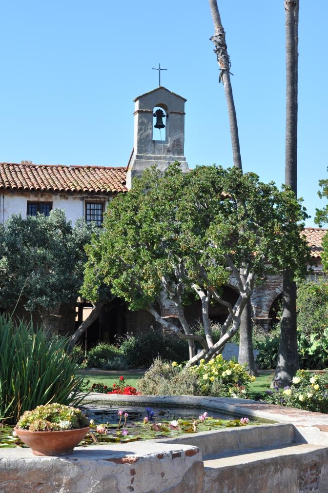 garden, Mission San Juan Capistrano, California