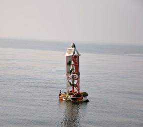 Pacific Ocean California Buoy