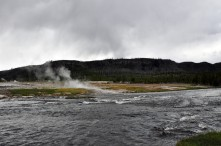Yellowstone National Park, Wyoming, geothermal features