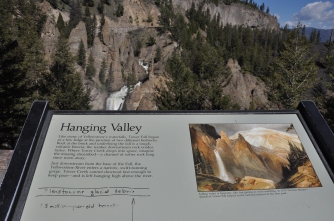 Yellowstone National Park, Hanging Valley