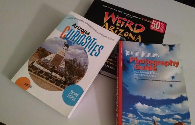 travel guides, arizona