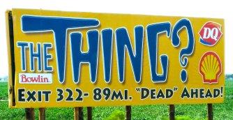 The Thing, Arizona