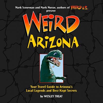 Weird Arizona, book cover