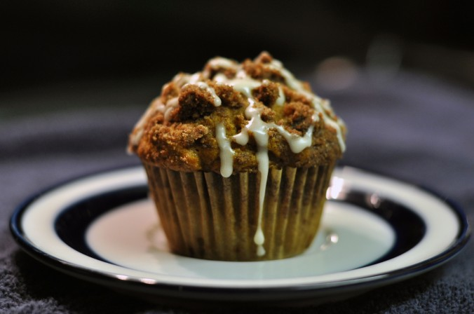 pumpkin streusel muffin recipe, baking