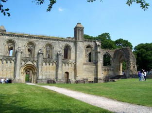 Glastonbury Abbey England