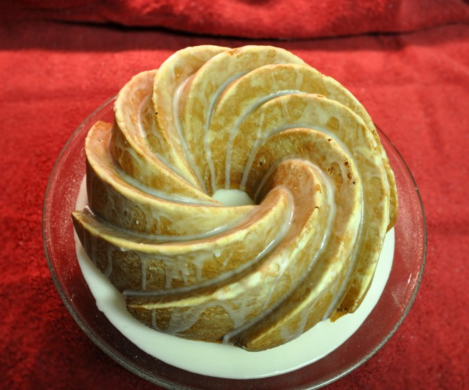 lemon bundt cake with glaze