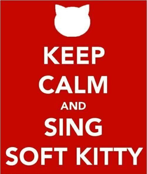 Soft Kitty always works :)