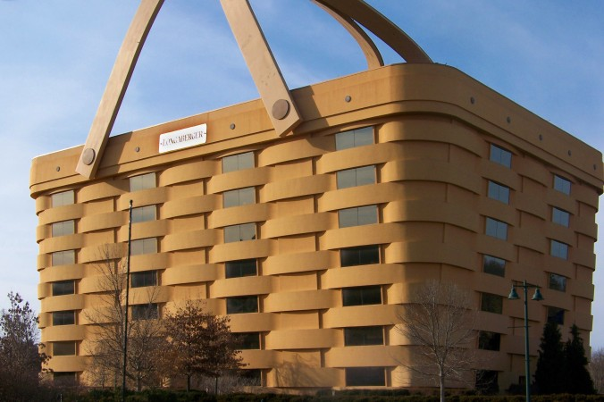 Longaberger baskets headquarters ohio